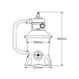 Песочный фильтр Bestway (58515) (для бассейнов до 6 м.куб.), фото 5