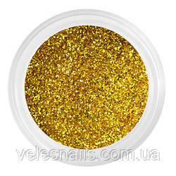 Песок для ногтей золотой