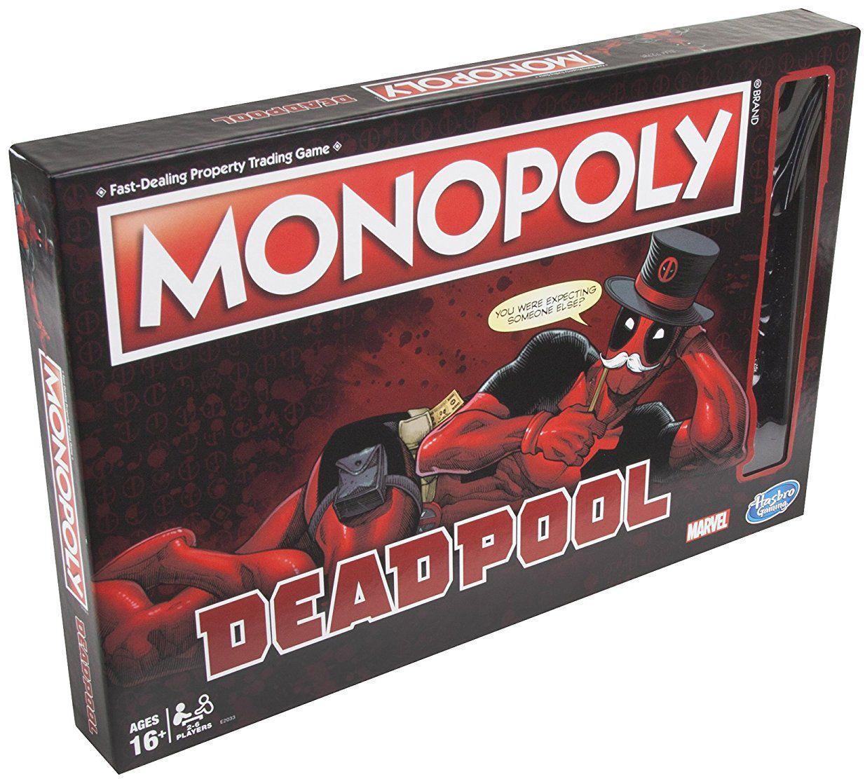Настольная игра Hasbro Monopoly: Marvel Deadpool Edition  (E2033)