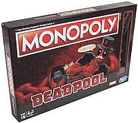 Настольная игра Hasbro Monopoly: Marvel Deadpool Edition  (E2033), фото 1