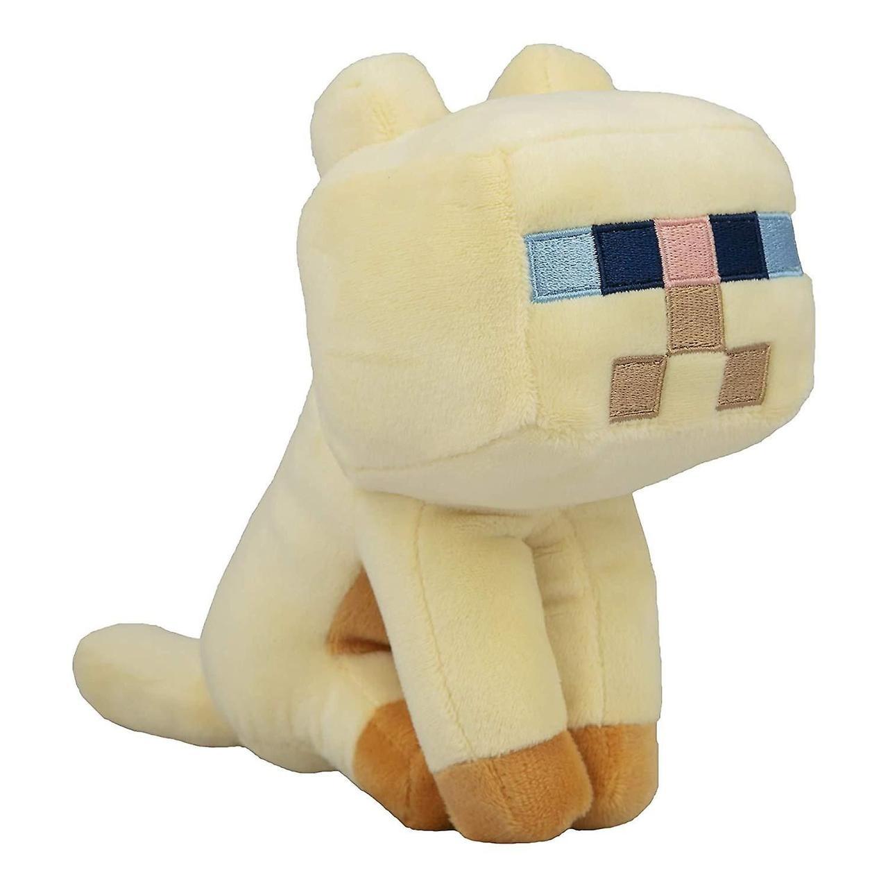 """Фигурка JINX Minecraft - Happy Explorer Persian Cat, 8"""" Multi-Color"""