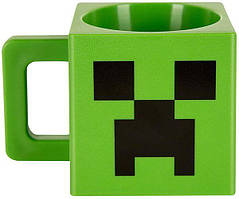 Кружка JINX Minecraft - Plastic Creeper Mug 290 ml