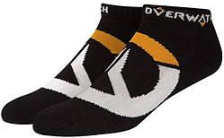 Носки JINX Overwatch - Logo Socks Black (3 Pairs)