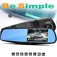Автомобильный видеорегистратор / Зеркало заднего вида Vehicle Blackbox DVR
