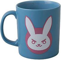 Кружка JINX Overwatch - D. VA Ceramic Mug Blue/Pink