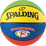 Мяч баскетбольный Spalding Jr. NBA-Rookie Gear Outdoor Size 5 SKL41-227329, фото 2