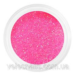 Глиттерный песок для ногтей розовый