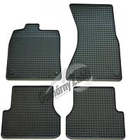 Резиновые ковры Ауди A6 с 2011⇒ / цвет:черный