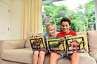 Игровой научный набор для детей ДНК динозавра, игрушка набор для раскопок, 4М, с дополненной реальностью