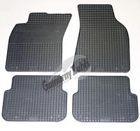 Резиновые ковры Ауди А6 с 2004⇒2006⇒/ цвет: серый