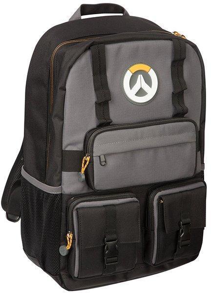 Рюкзак JINX Overwatch MVP Laptop Backpack, Black/Grey
