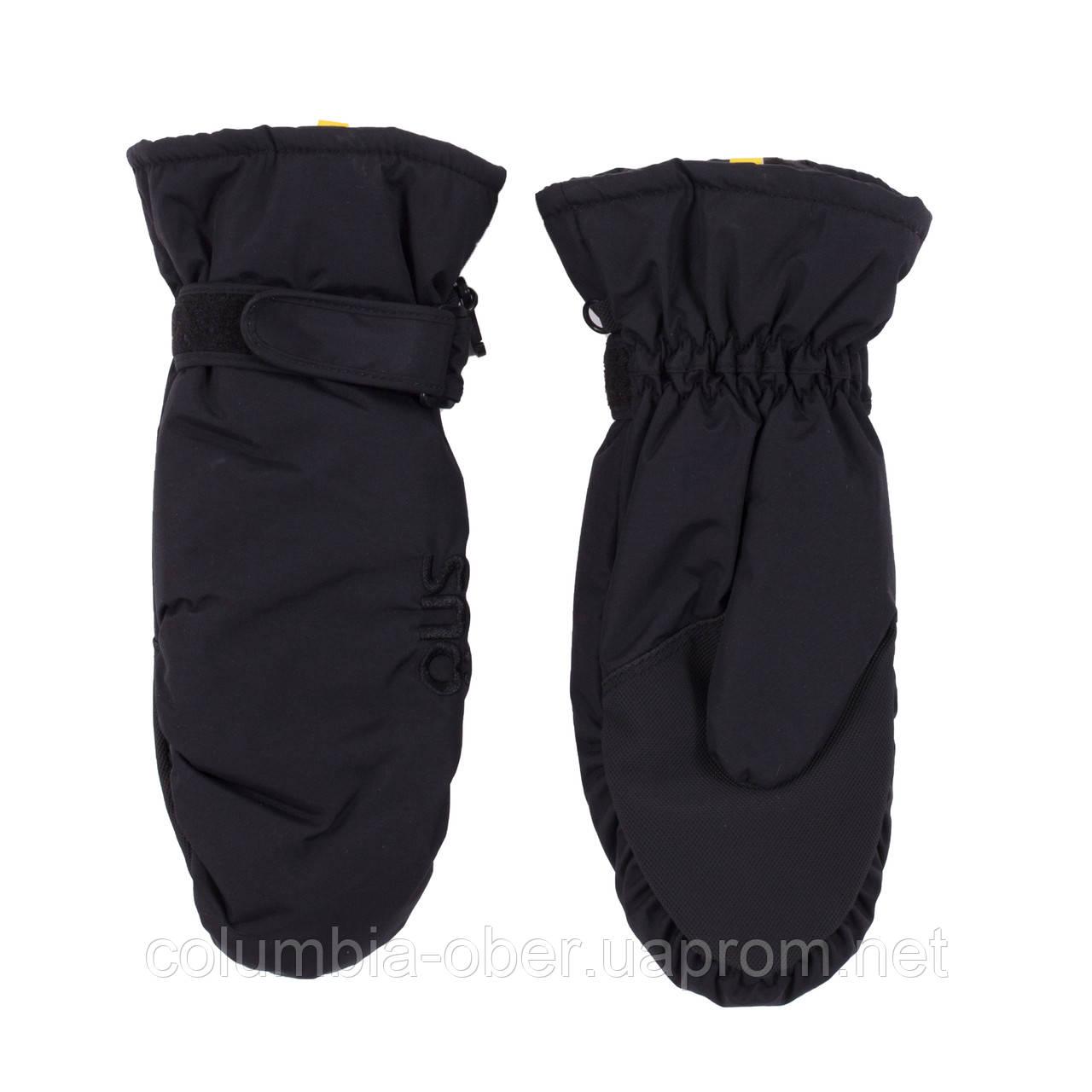 Зимние рукавицы - краги для мальчика SNO F18MIT310 Black. Размеры 7/8 - 14/16.