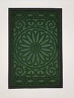 Придверний килимок 40х60см. темно зелений