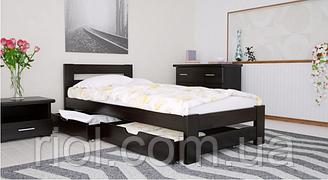 Ліжко дерев'яне односпальне Симфонія