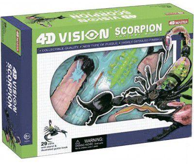 Настольная игра 4D Master Скорпион Анатомия  животных (26113)