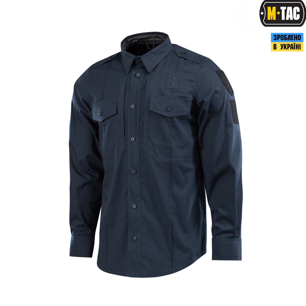 M-Tac рубашка Police Elite Flex рип-стоп Dark Navy Blue