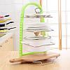 Стойка для сковородок Prepare Frying pan rack / Кухонный держатель, фото 3
