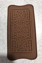 Силіконова форма для шоколаду Кавові зерна