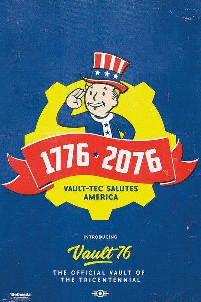 Постер GB eye Fallout 76 Poster - Tricentennial (FP4675)