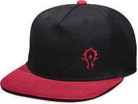 Кепка JINX World of Warcraft - Team Horde, Black/Red, фото 1