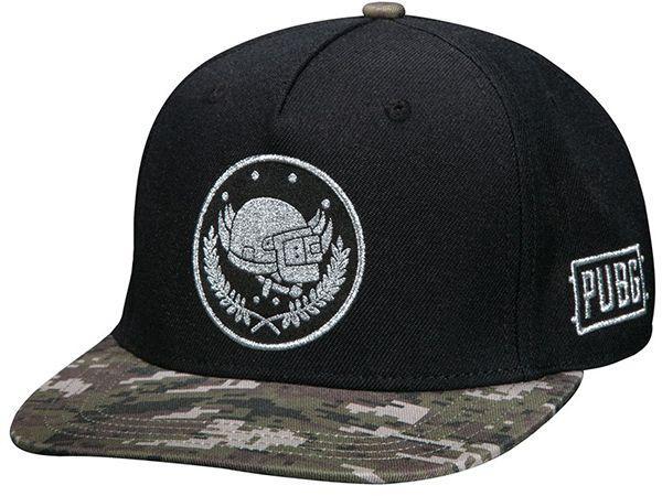 Кепка JINX PUBG - Pan Crest Snap Back Hat, Black