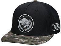 Кепка JINX PUBG - Pan Crest Snap Back Hat, Black, фото 1