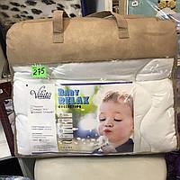 Одеяло детское белое viluta