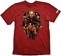 Футболка Gaya Wolfenstein 2 T-Shirt - Face of Death Tango Red M