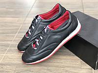 Кроссовки мужские кожаные MIDA 110867 ч размеры 43,45, фото 1