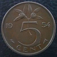 5 центов 1954 года