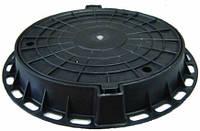 Люк легкий пластиковый 3тн (черный)