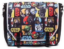 Сумка Difuzed Star Wars - Retro Characters Comic Style Messenger bag