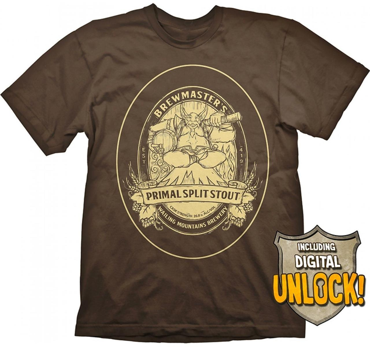 Футболка Gaya DOTA 2 T-Shirt - Brewmaster + Ingame Code, XXL