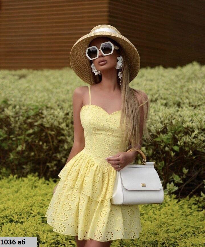 Женское летнее платье 1036 аб