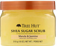 Tree Hut Sugar scrub Сахарный скраб с маслом ши, марула и жасмин 510гр