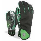 Гірськолижні рукавички чоловічі Level Suburban кол.Чорний-зелений | розмір 7,5, фото 2