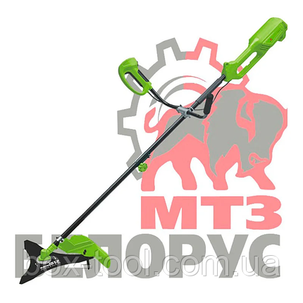 Электрокоса Белорус МТЗ КГ-3100М (разборная штанга, велосипедные ручки), фото 2
