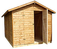 Сарай из дерева, бытовка, хозблок для инвентаря, инструмента, техники, садовый домик деревянный
