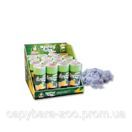 Karlie Flamingo (Карли Фламинго) Esting Tube Cotton 25  хлопковые волокна для гнезда для грызунов 25 г - Интернет-магазин КАПИБАРА в Киеве