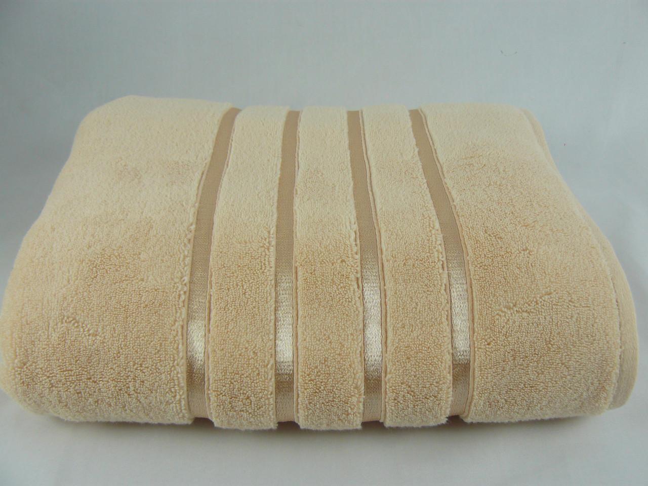 Полотенце  махровое Hobby 100х150, персик,  560 г/м²
