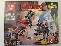 Конструктор Lepin Ninja Movie / Ниндзяго 06068 Атака Пираньи (аналог Lego Ninjago Movie 70629)