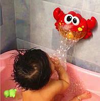 Музыкальная игрушка для ванной комнаты Краб  лягушка