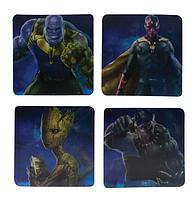Подстаканник Paladone Marvel - Avengers Infinity War Lenticular  Coasters (PP4406MVIW), фото 1