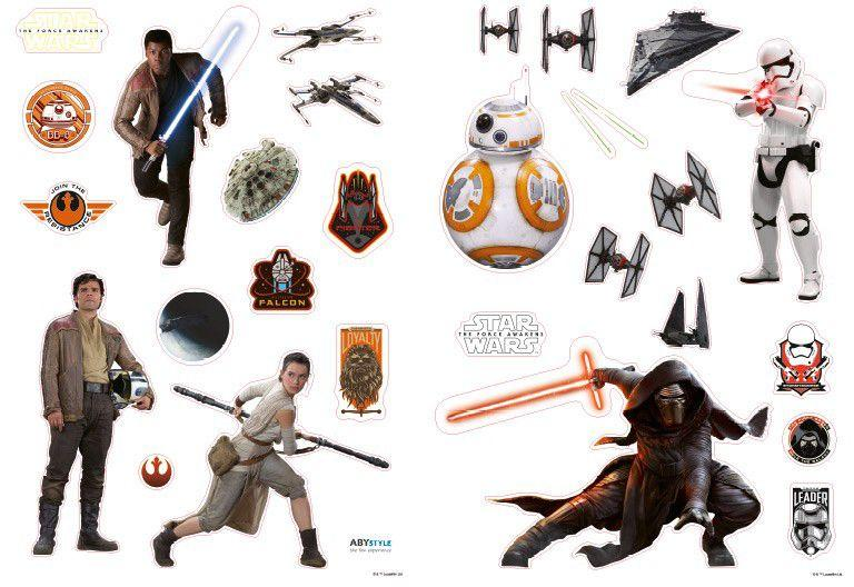 Наклейка Abystyle Star Wars - Stickers The Force Awakens