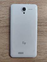 Задняя панель телефона  Fly IQ4416 ERA Life 5, оригинал, б/у, часть с разборки