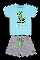 Детский летний костюм для мальчика *Технозавр*