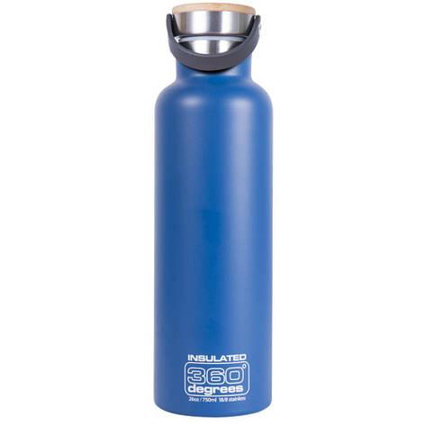 Термофляга 360 Degrees Vacuum Insulated 750 мл Ocean Blue, фото 2