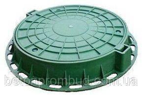 Люк  легкий пластиковый 3тн (зеленый)