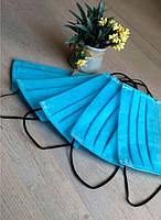 Защитная маска для лица Синяя