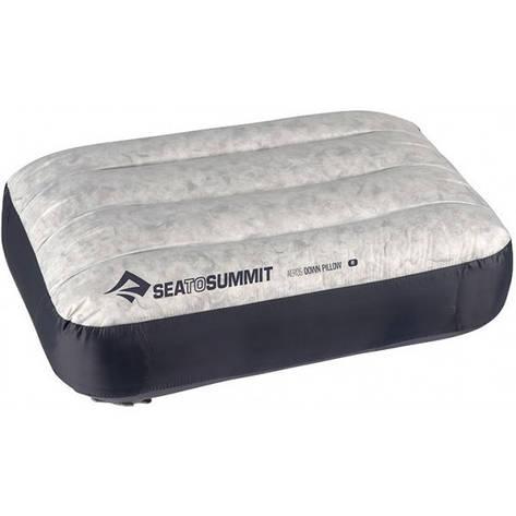 Надувная подушка Sea To Summit Aeros Down Pillow Regular Grey, фото 2